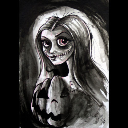 """Halloween Princess"" print"