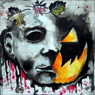 """Michael's Halloween"" Print"